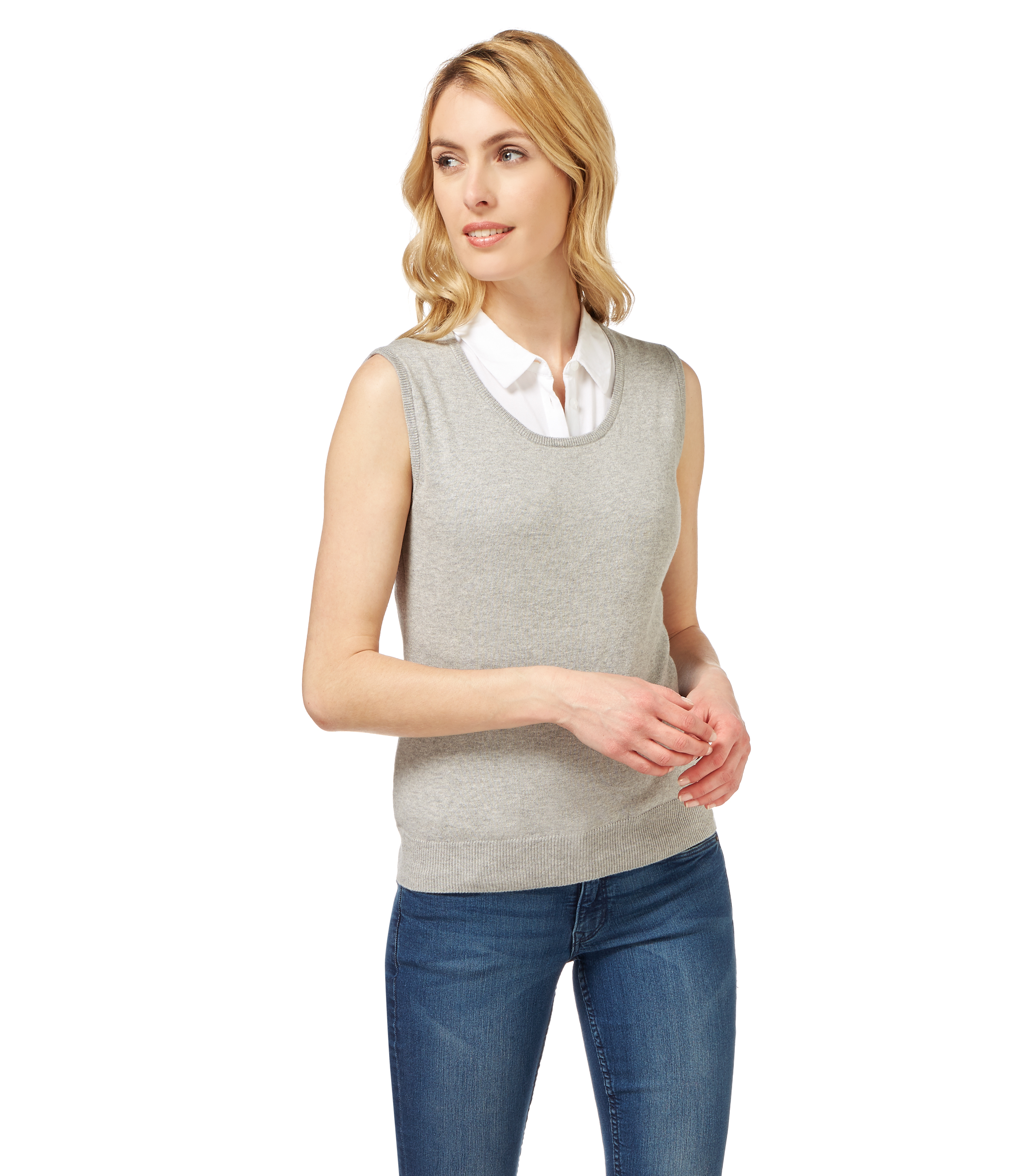 Shop Chadwicks of Boston for our Sleeveless Ribbed Turtleneck. Browse our online catalog for more classic clothing, shoes & accessories to finish your look. Comfortable ribbed knit sweater in a sleeveless style that's perfect for layering. Cotton/nylon; They were comfortable. I got tall size because they were out of my size in women's.