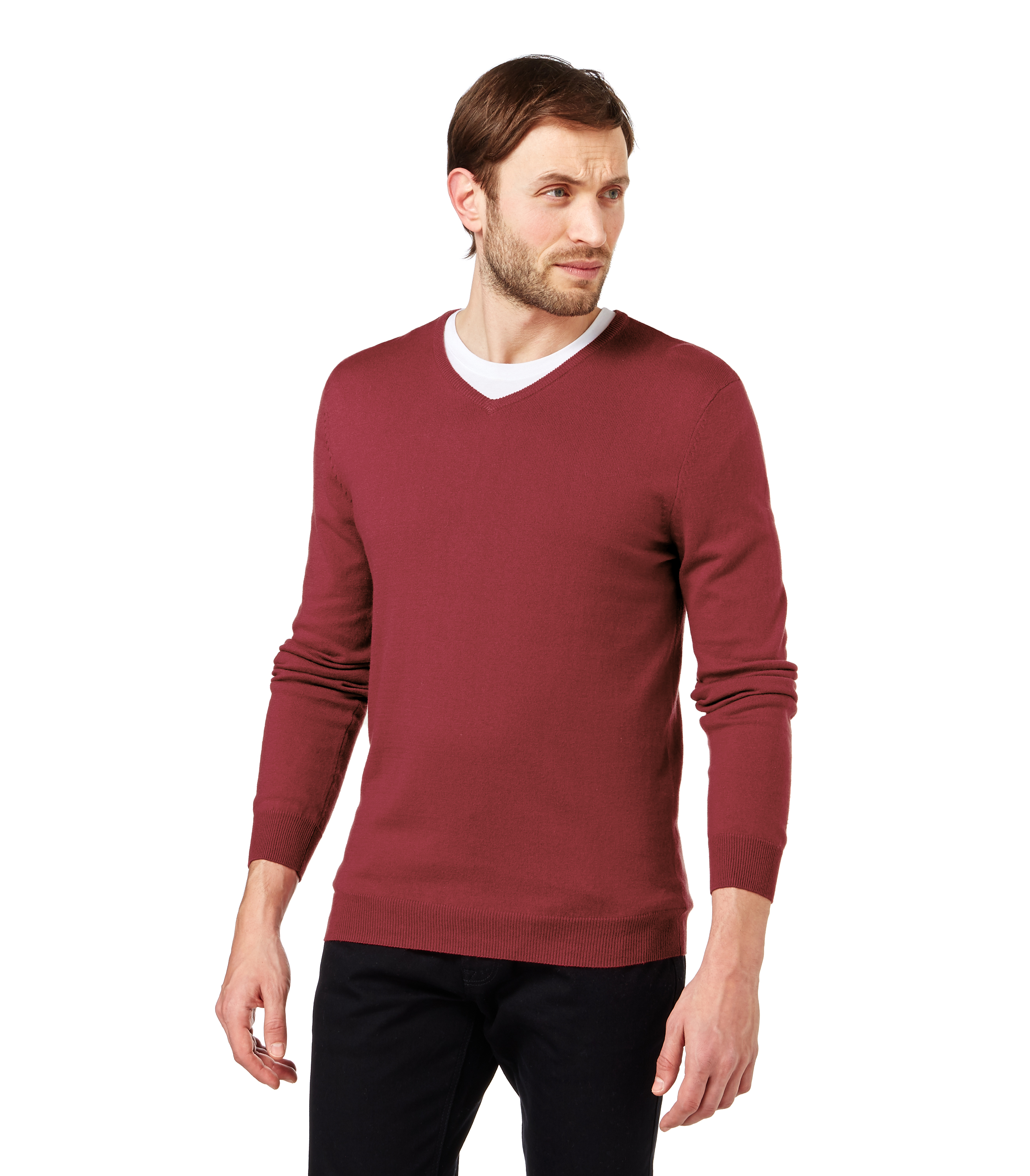woolovers herren strickpullover v ausschnitt langarm seiden mix pullover pulli ebay. Black Bedroom Furniture Sets. Home Design Ideas