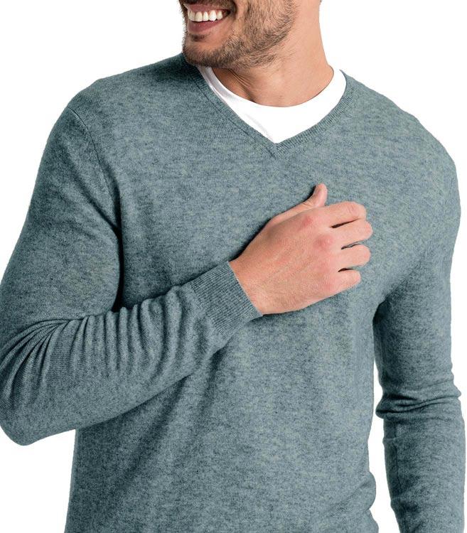 woolovers herren strickpullover v ausschnitt langarm pullover merino kaschmir ebay. Black Bedroom Furniture Sets. Home Design Ideas