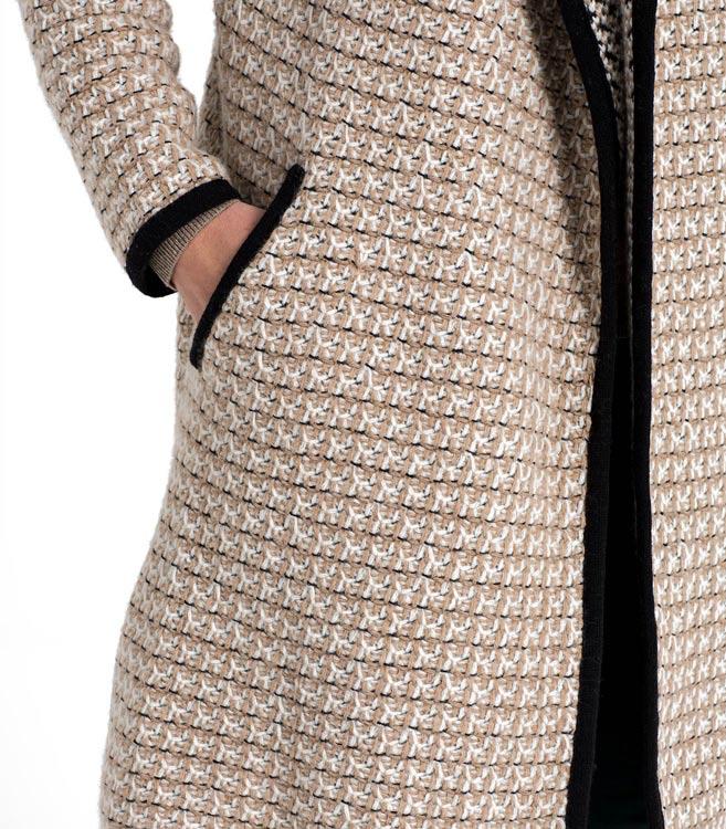 Woolovers Womens Ladies Lambswool Waterfall Coatigan Coat