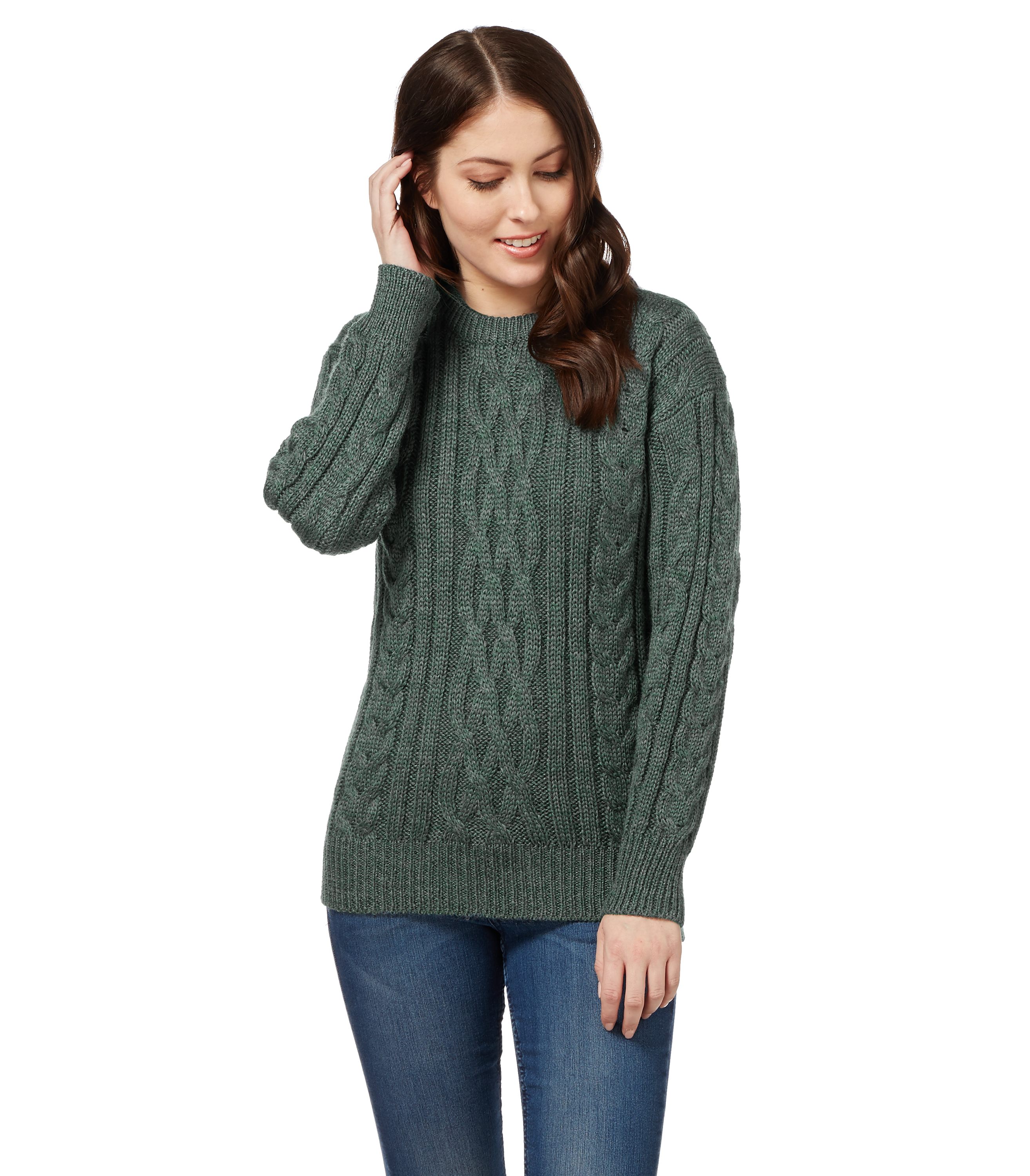 Womens pullovers and cardigans. Traditional and contemporary wool sweaters hand knitted by Icelandic Housewives. The hand knit wool sweaters and wool cardigans are excellent examples of Icelandic knitwear.
