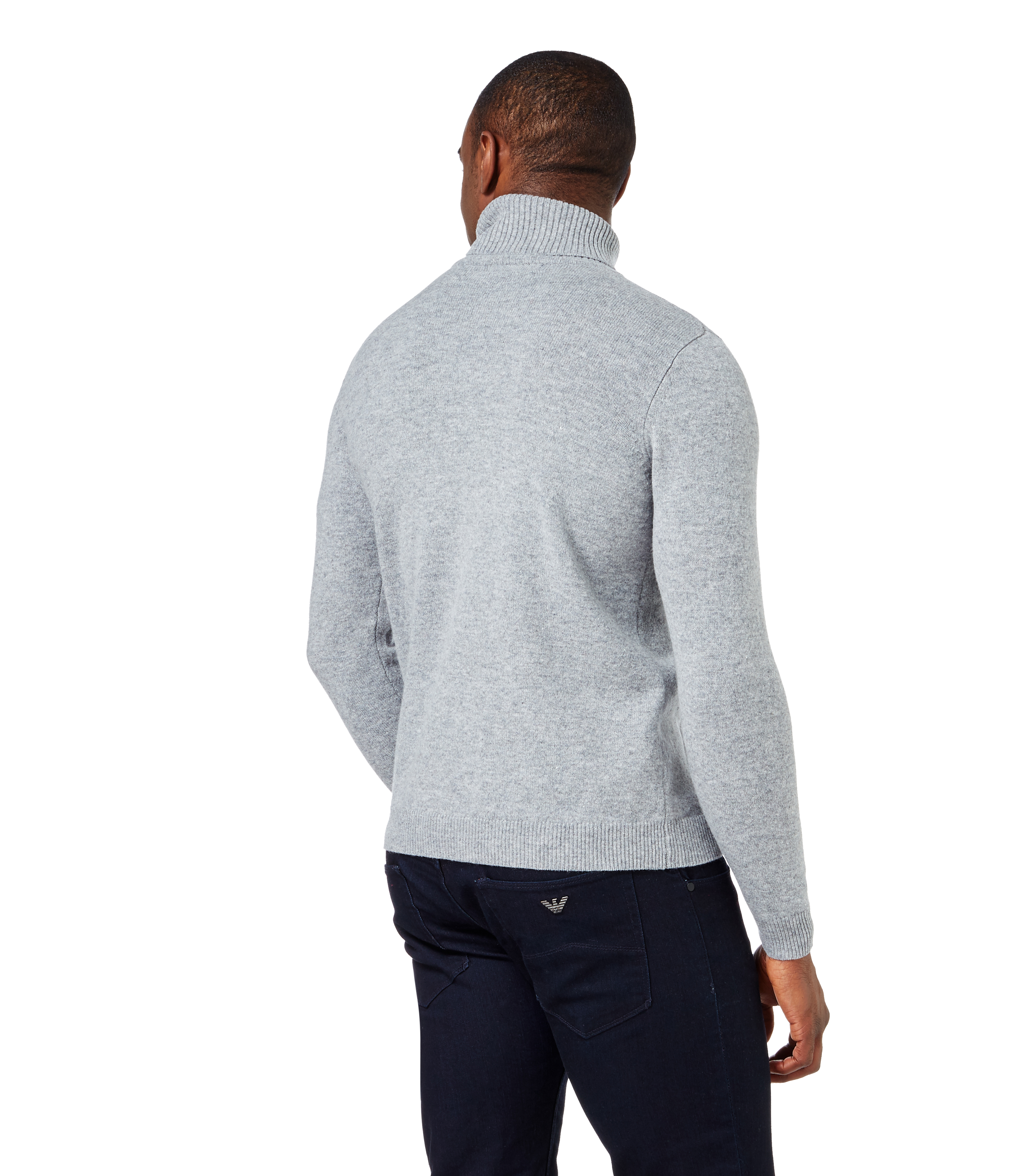 how to wear polo neck sweater
