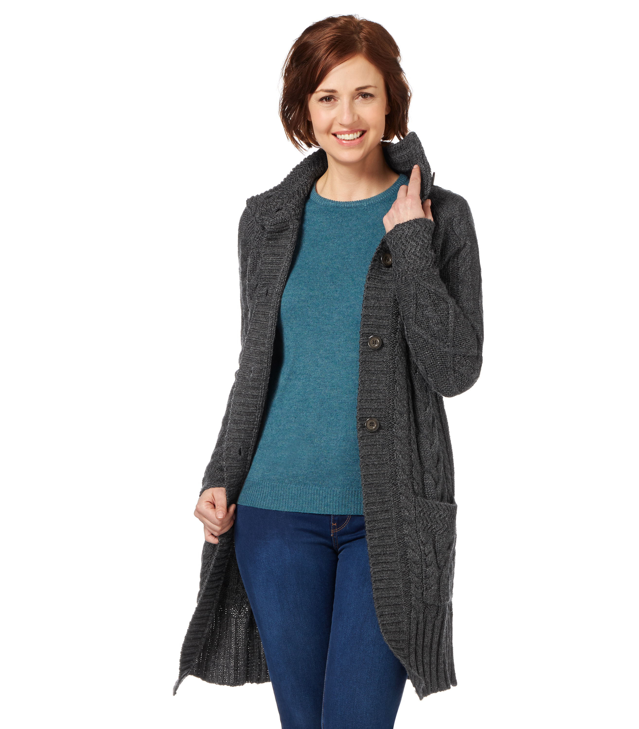 Irish cardigans in super soft merino wool, as well as modern styles for him such as shawl collar sweaters and on-trend looks for her including stylish Aran coats and .